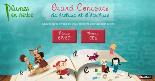 Concours plumes en herbe des Editions Nathan