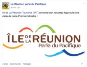 """L'IRT change son logo : """"La Réunion perle du Pacifique""""..."""