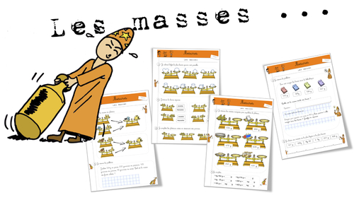 Maths -  Mesure : les masses
