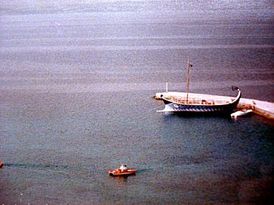 EVVIA  EN  GRECE  EN  1988
