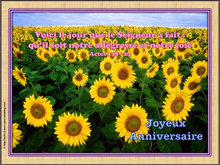 Joyeux Anniversaire - Actes 118 : 24