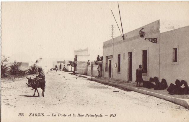 La poste de Zarzis 1900