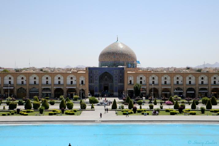 La place Naghsh-e Jahan, Ispahan, Iran