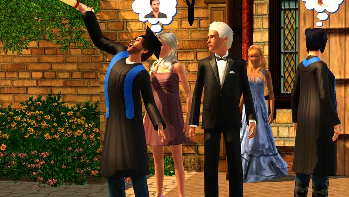 Chapitre 18 : Mariage, grossesse et diplôme (pas forcément dans cet ordre)