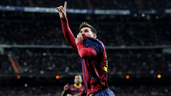 Lionel Messi, meilleur buteur de l'histoire du Clasico