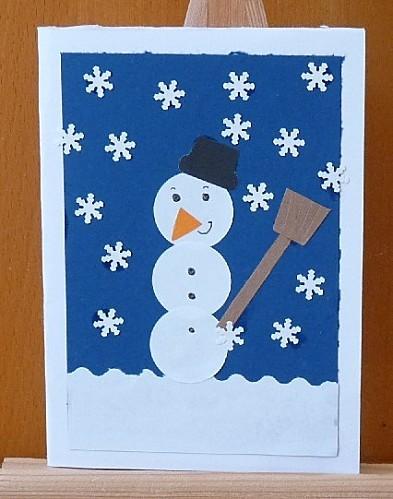 carte bonhomme neige perfos fant1