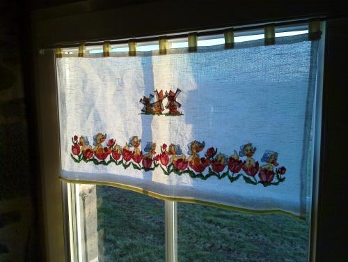 Farandole de canetons sur mes rideaux
