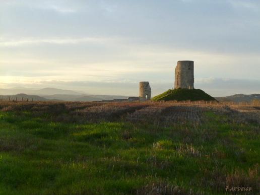 La tour de Mercurol – avec ou sans premier plan?
