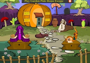 Jouer à Garden pumpkin house escape