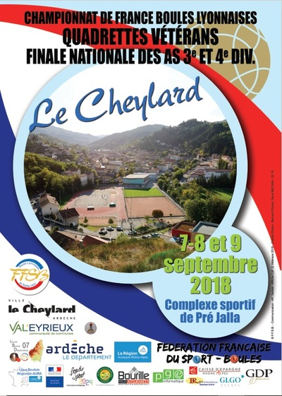 LE CHEYLARD 2018