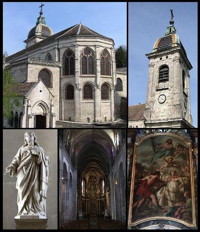 Image illustrative de l'article Cathédrale Saint-Jean de Besançon