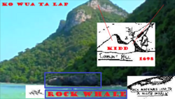 "KO WUA TA LAP, ""The Lookout and the Rock Whale "". (Photo Parc Maritime Ko Ang Thong)"