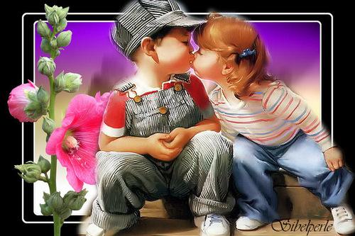 fleur et enfants
