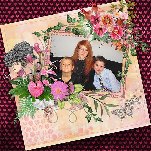 Shabby sweet spring de Desclics