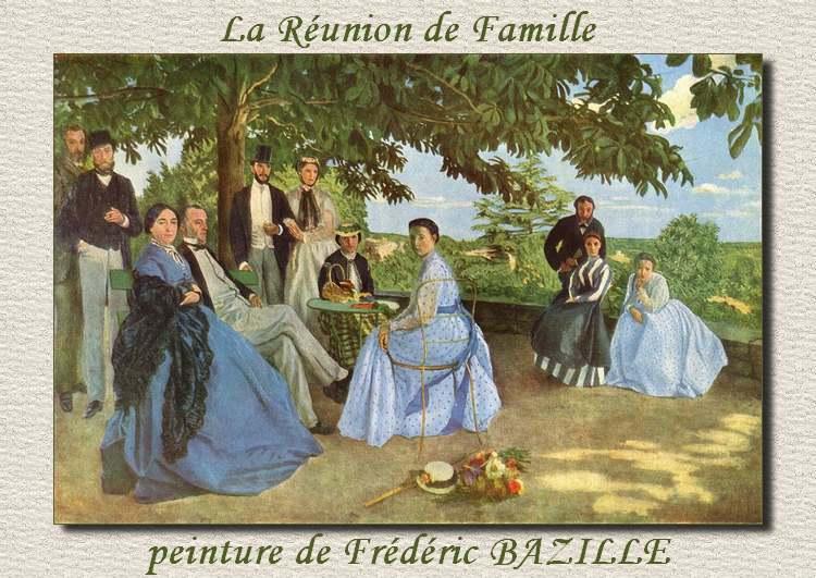 Peinture de Frédéric BAZILLE - Impressionniste