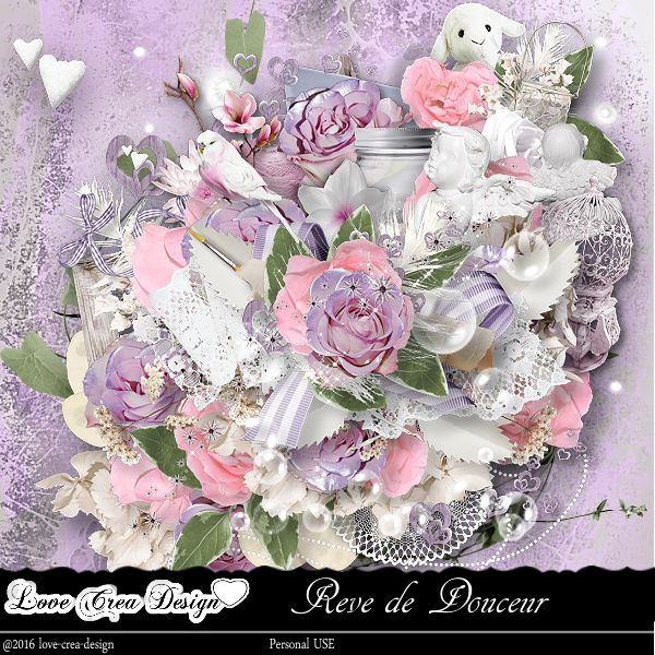 Rêve de douceur by Love Crea Design