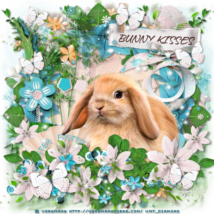 "Tutoriel ""sweet bunny kisses "" de Cookie Creations"