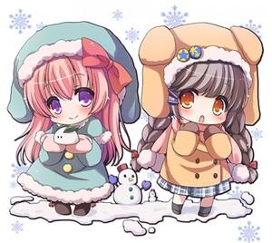chibi hiver