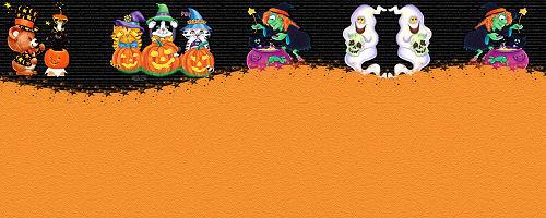 Papiers incrédimail pour Halloween