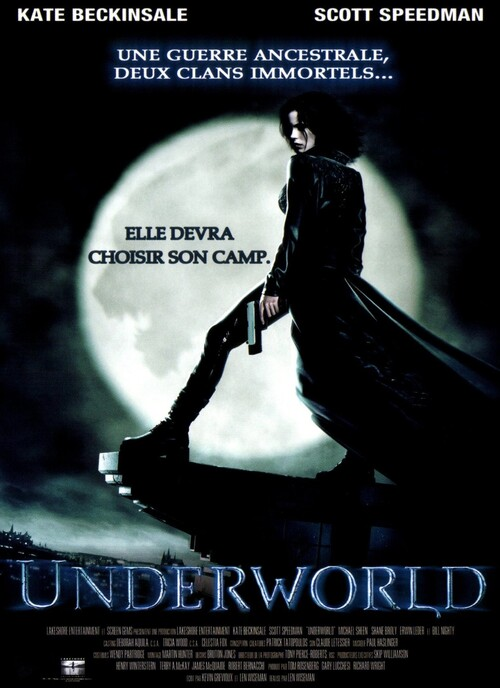 UNDERWORLD BOX OFFICE FRANCE 2003