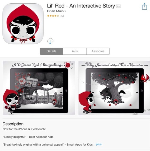 [appli] Lil' Red - An Interactive Story