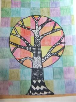 """Projet arts """"la forêt, les arbres"""" 2015 / 2016"""