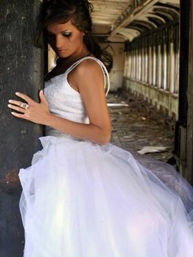 Robe de mariée,mariée
