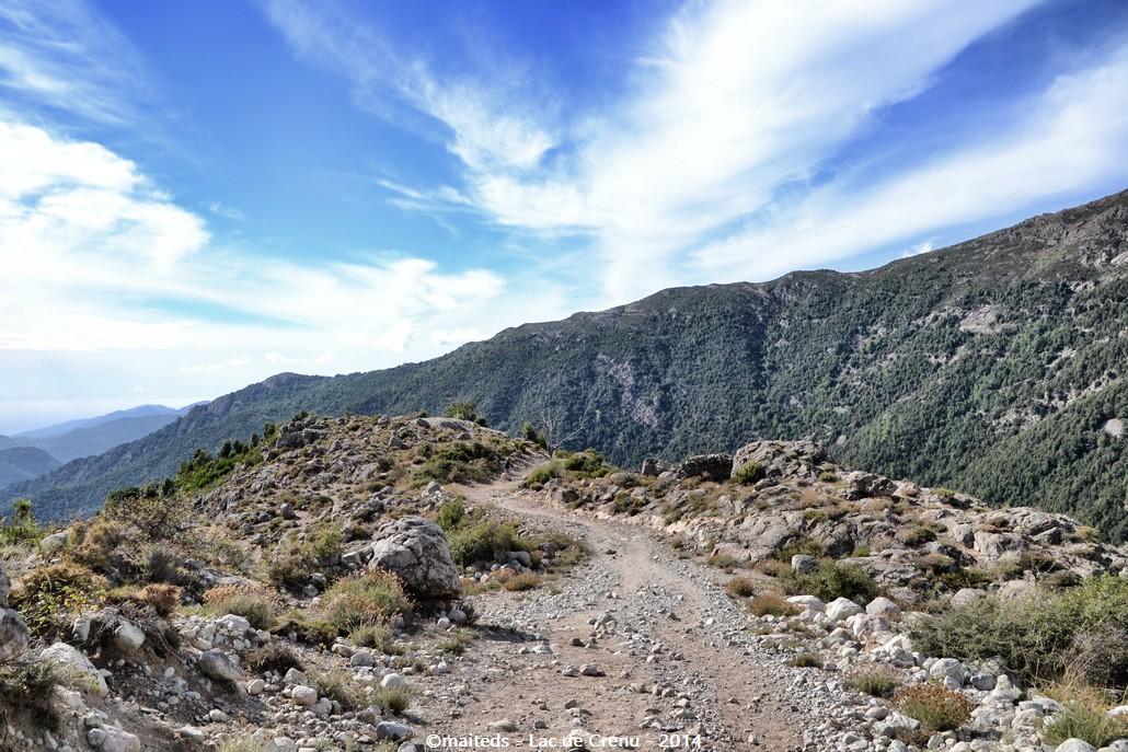 En route pour le lac de Crenu - Corse
