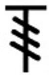 Symbole Triple-Bride