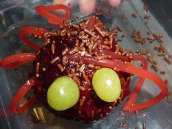 araignée de la sorcière gâteau