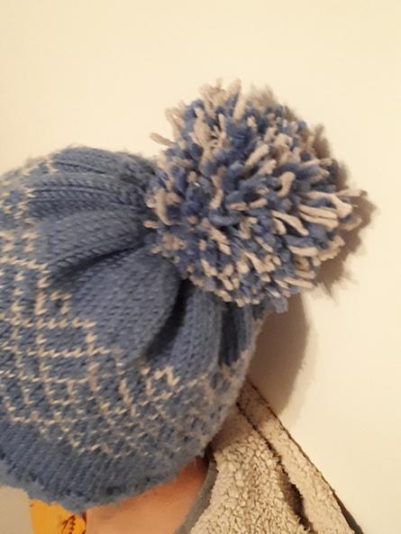 Mylène - Tricot : Bonnet Smalt #1