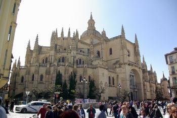 SEGOVIA - la cathédrale