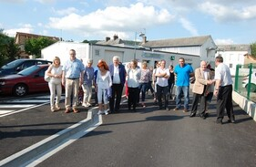 INAUGURATION RUE AUX ORMES