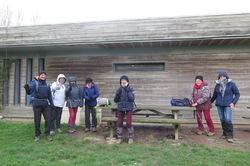 La randonnée du 27 janvier à Arromanches