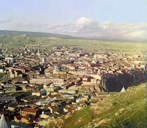 VIEW of TBILISI 1900