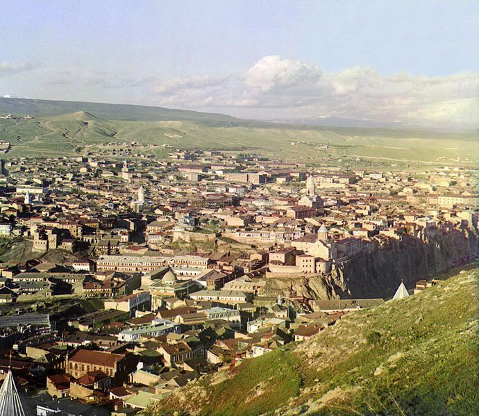 File:View of Tbilisi, in the early 1900s, Sergei Mikhailovich Prokudin-Gorskii.jpg