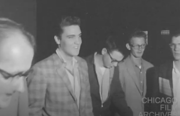 Elvis Spends His First Day at Camp 3-25-58, Negative Trims (1958, Frank Koza Collection)