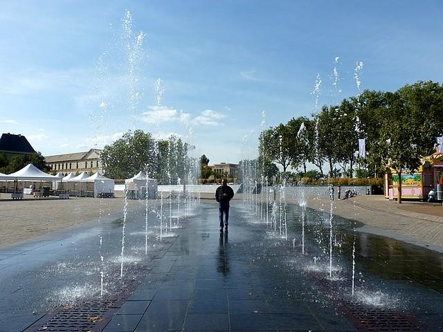 La fontaine de la République à Metz 2 Marc de Metz 20 09