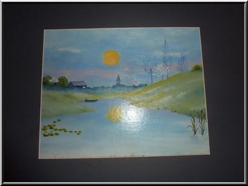 challenge et peinture by Morganne