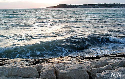 Brise de mer pour ancre du coeur