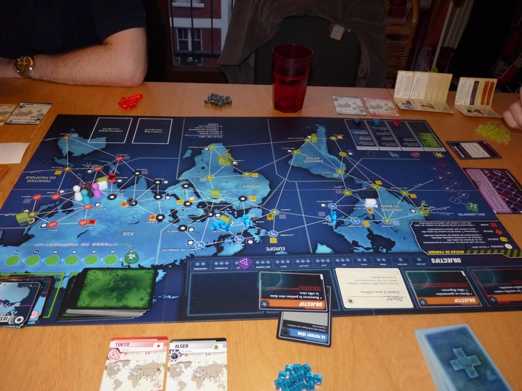 Pandémie Legacy (début octobre)