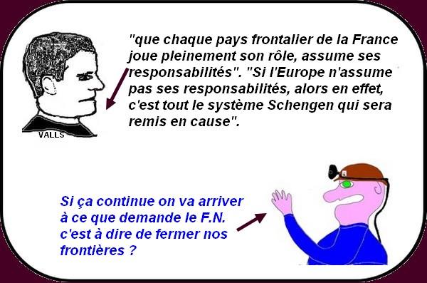 Valls et l'Europe, les agressions, la justice, ce sont les infos d'après attentats de Paris.