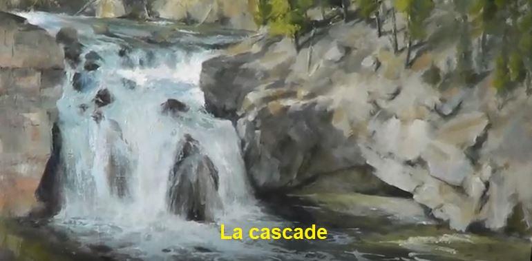Dessin Et Peinture Video 3040 Peindre Une Chute D Eau Acrylique Et Huile Le Blog De Lapalettedecouleurs Over Blog Com