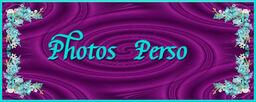 Photos Perso