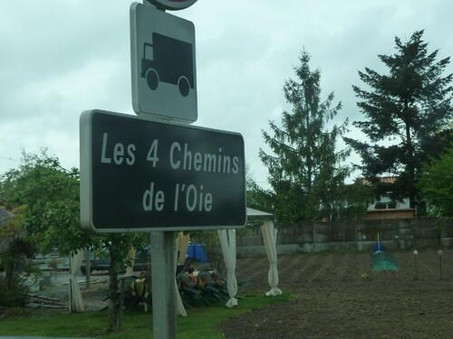Les Quatre-Chemins de l'Oie....