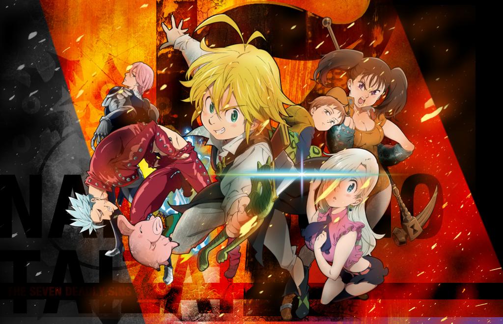 Seven Deadly Sins - Nanatsu no taizai.