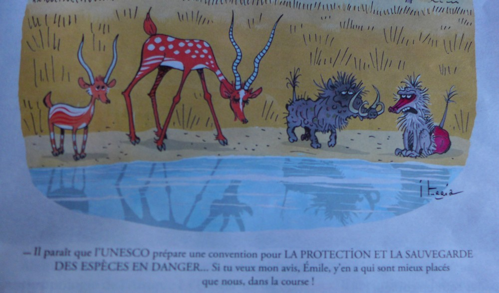 La protection des espèces en danger, par Michel Iturria...