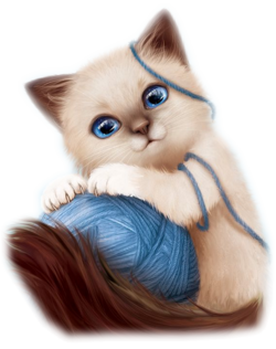 chats en illustrations
