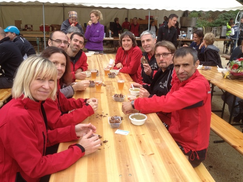 TRAIL DU CHAT GOURMAND 3/11/2013