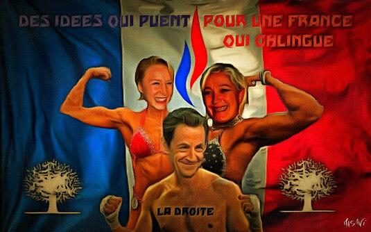 Marine Le Pen dissimule son portable dans son soutien-gorge pour le protéger lors d'une perquisition